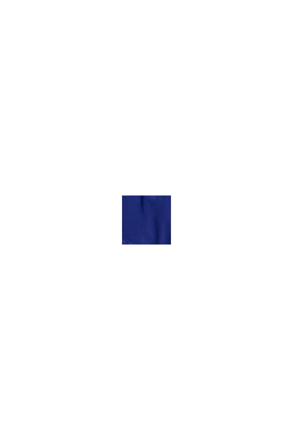 Quiltad jacka med huva, BRIGHT BLUE, swatch