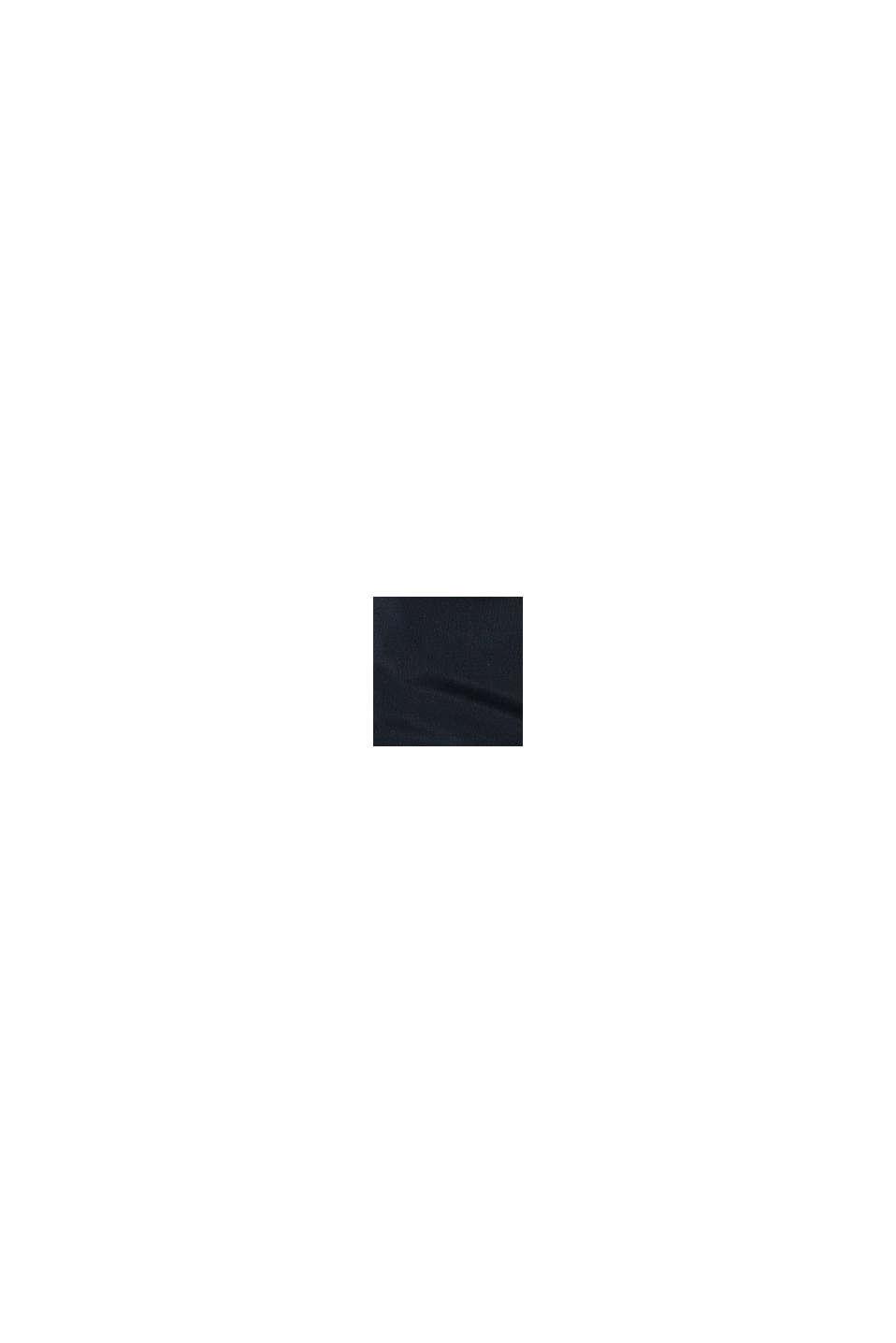 Vatovaná prošívaná vesta s kapucí, BLACK, swatch