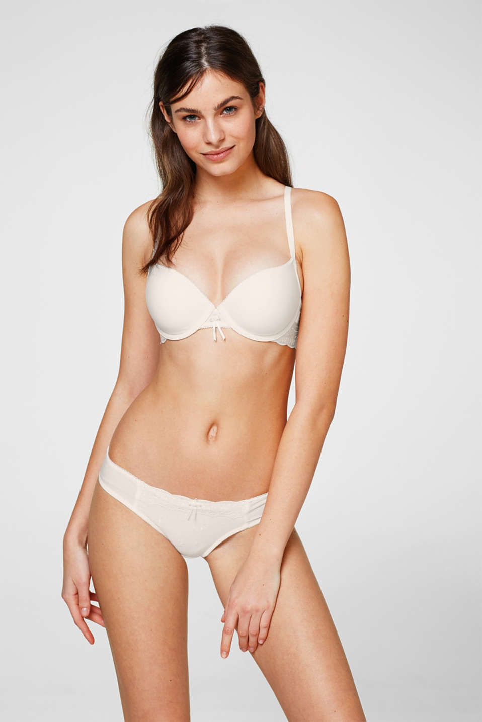Esprit - Underwire bra with multi-way straps