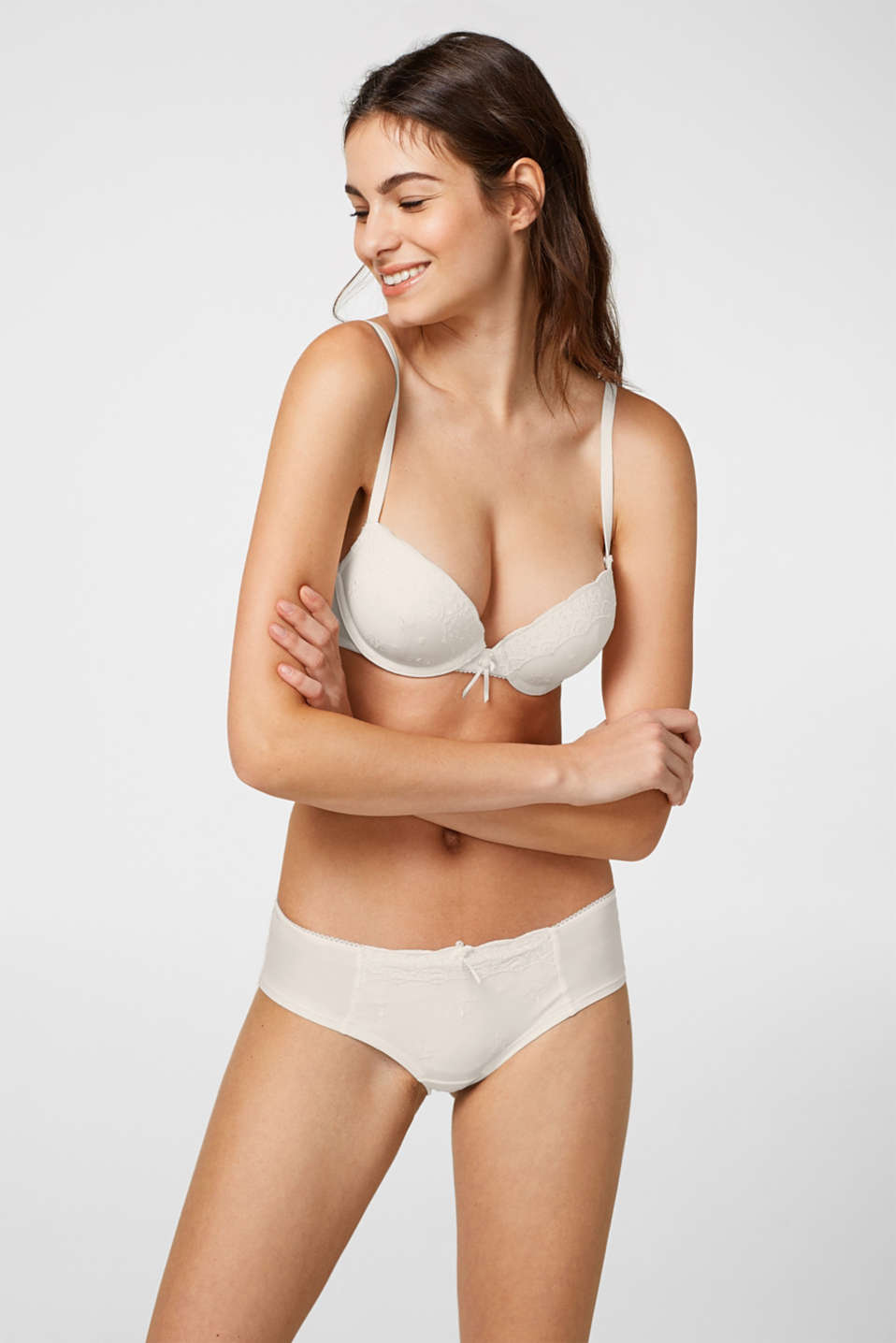 Esprit - Underwire bra with multiway straps