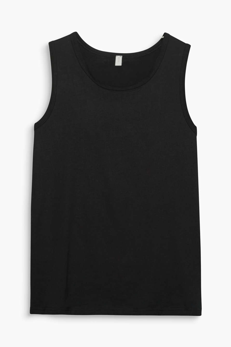 Esprit - Basic-top i 100% bomuld