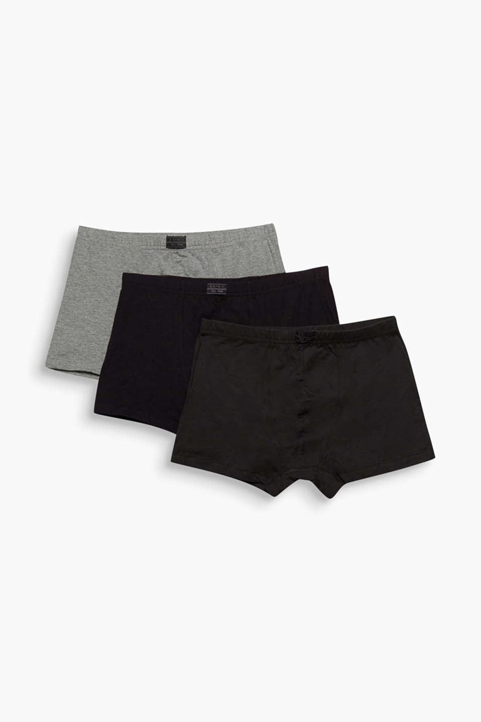 Your basic every day underwear: hipster cotton shorts with added stretch for comfort