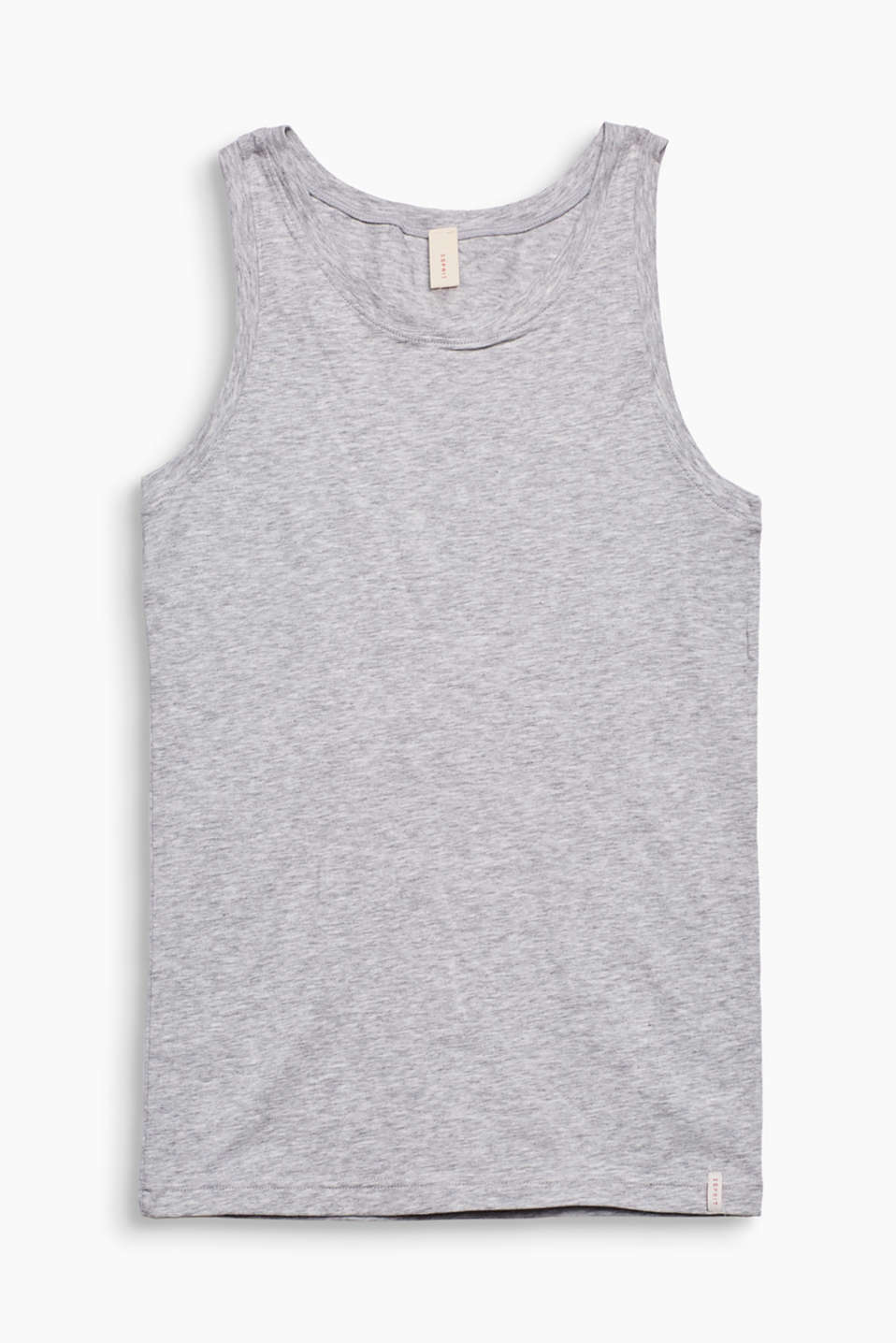 Esprit - Top en coton stretch