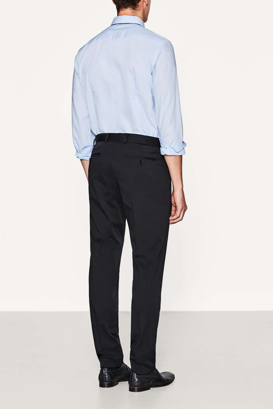 Classic suit trousers + stretch for comfort
