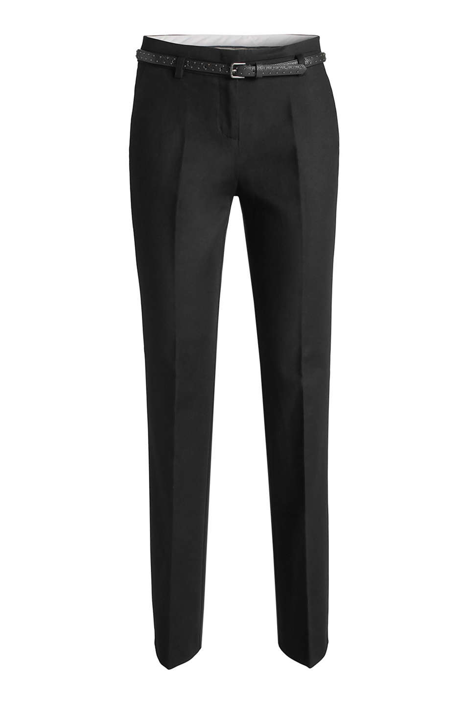 Esprit   Pantalon stretch soigné en coton à acheter sur la Boutique ... 7dbc76ebe03f