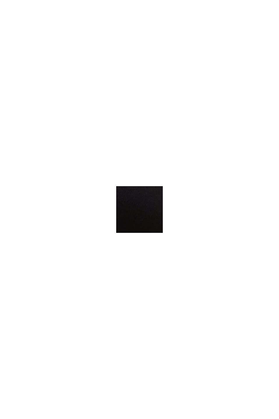 Vatteret bøjle-bh med blondebesætning, BLACK, swatch