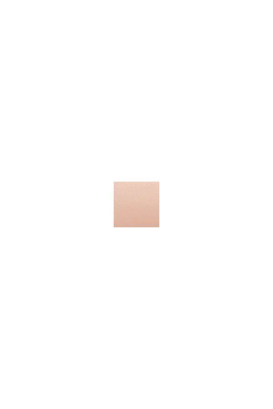 Vatteret bøjle-bh med blondebesætning, PASTEL ORANGE, swatch