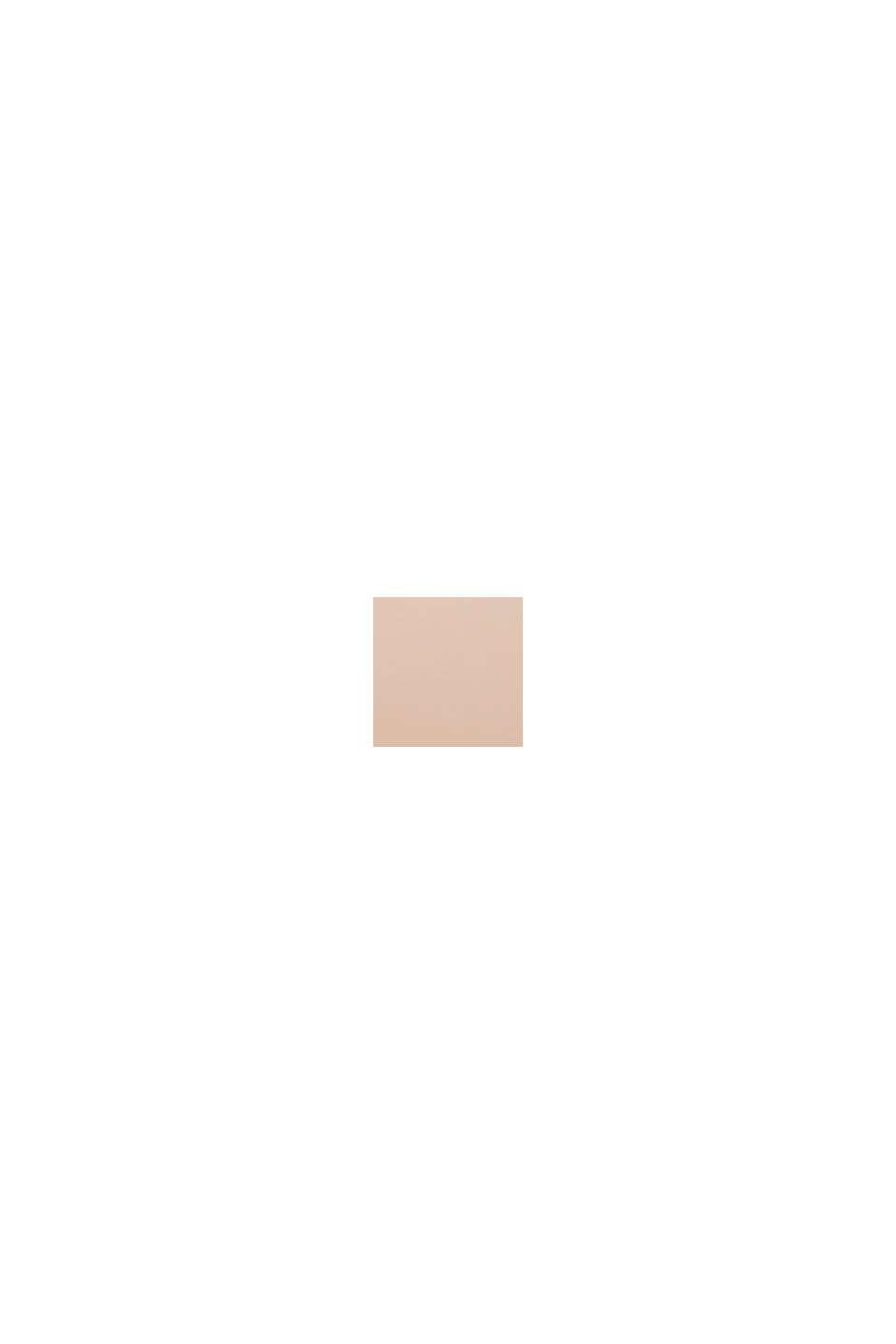 Upolstret bøjle-bh med blondebesætning, PASTEL ORANGE, swatch