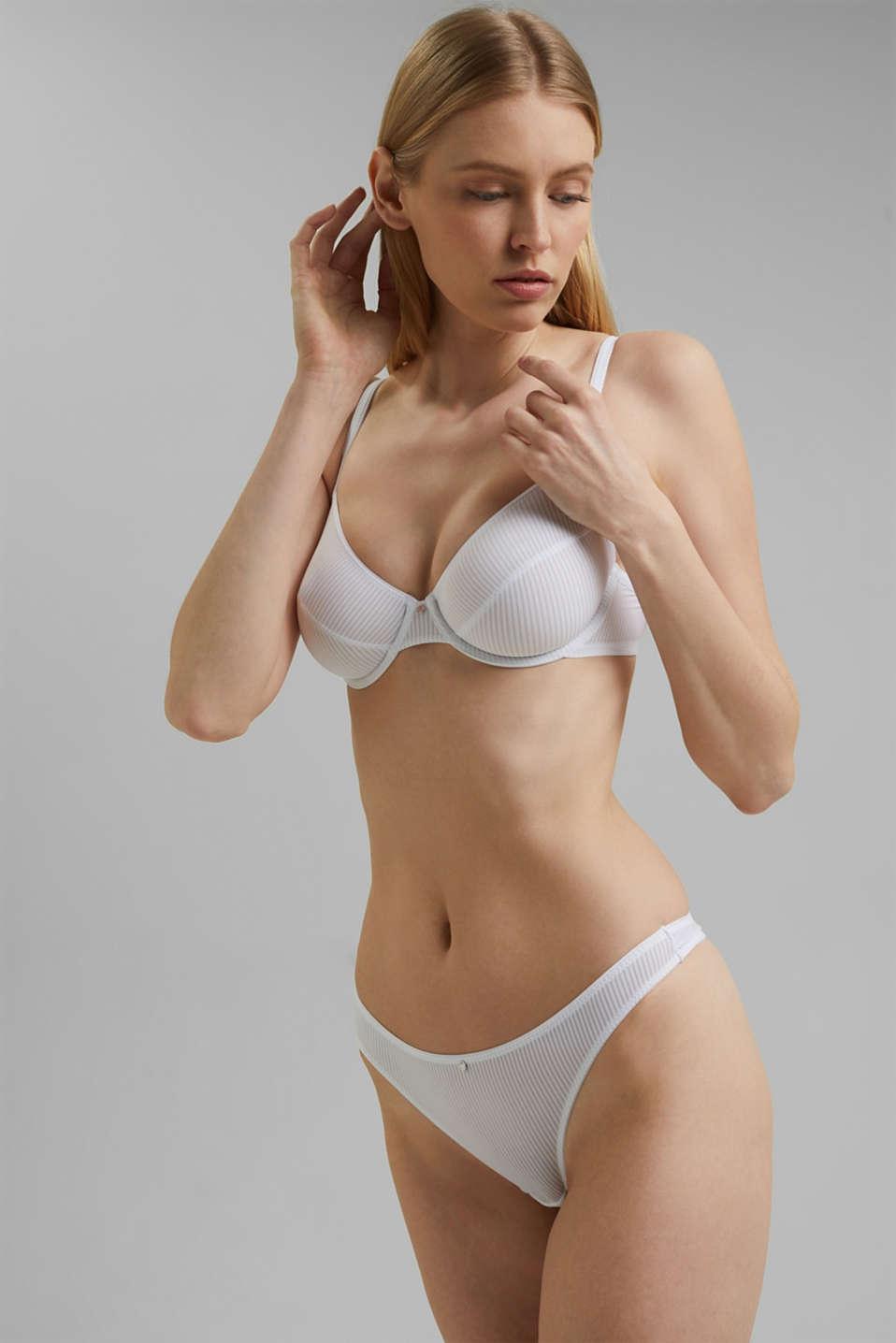 soft thong, WHITE, detail image number 0