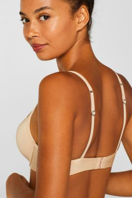 simple T-shirt bra, DUSTY NUDE 5, detail