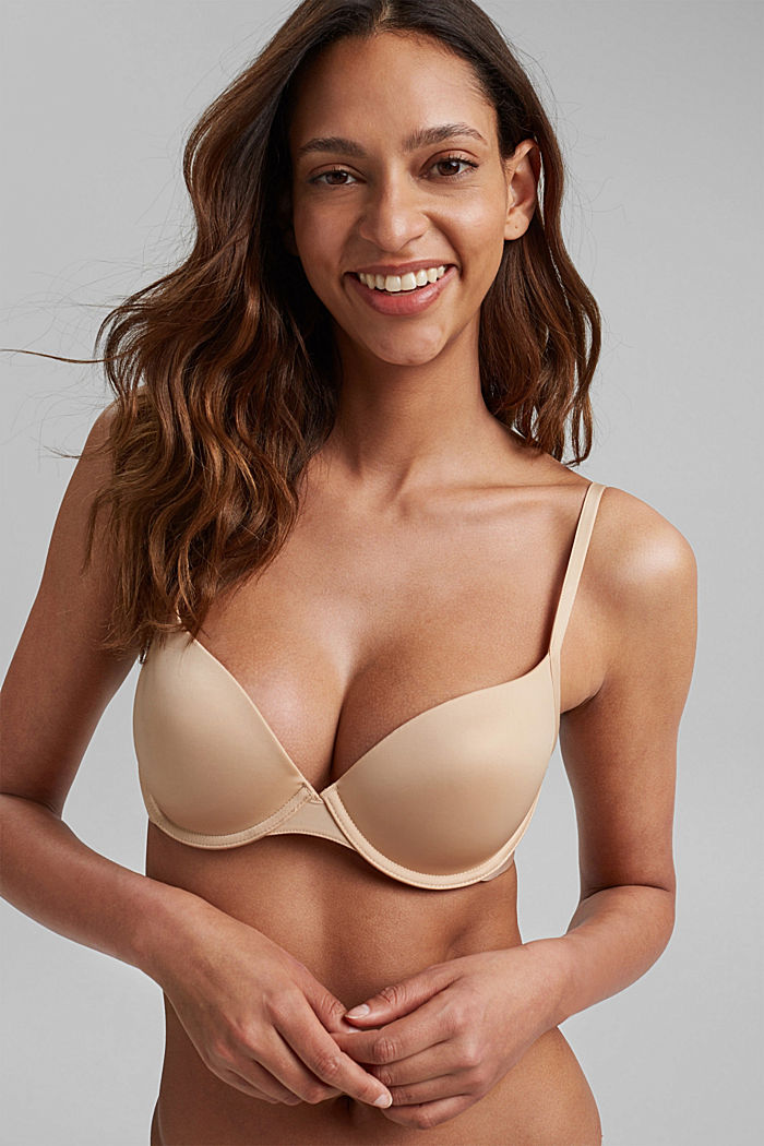 T-shirt underwire bra, DUSTY NUDE, detail image number 0