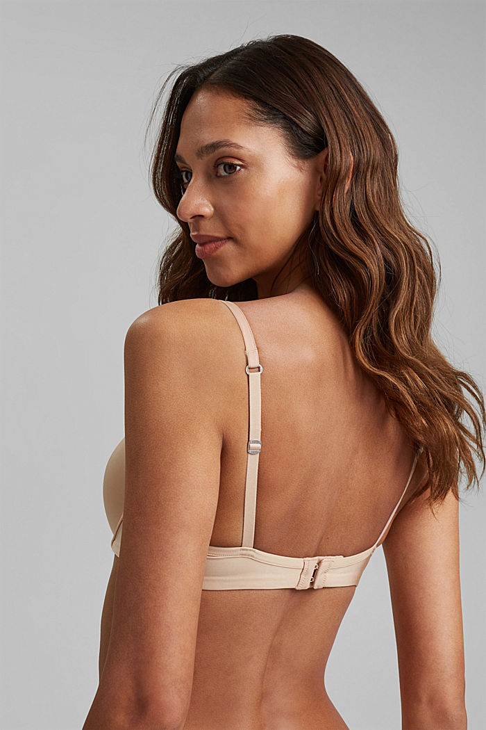 T-shirt underwire bra, DUSTY NUDE, detail image number 1