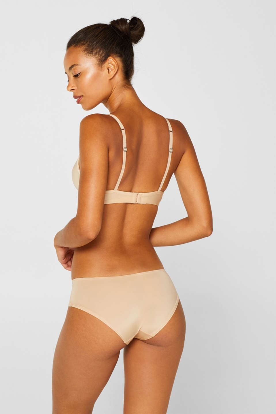 silky T-shirt bra, DUSTY NUDE 5, detail image number 1