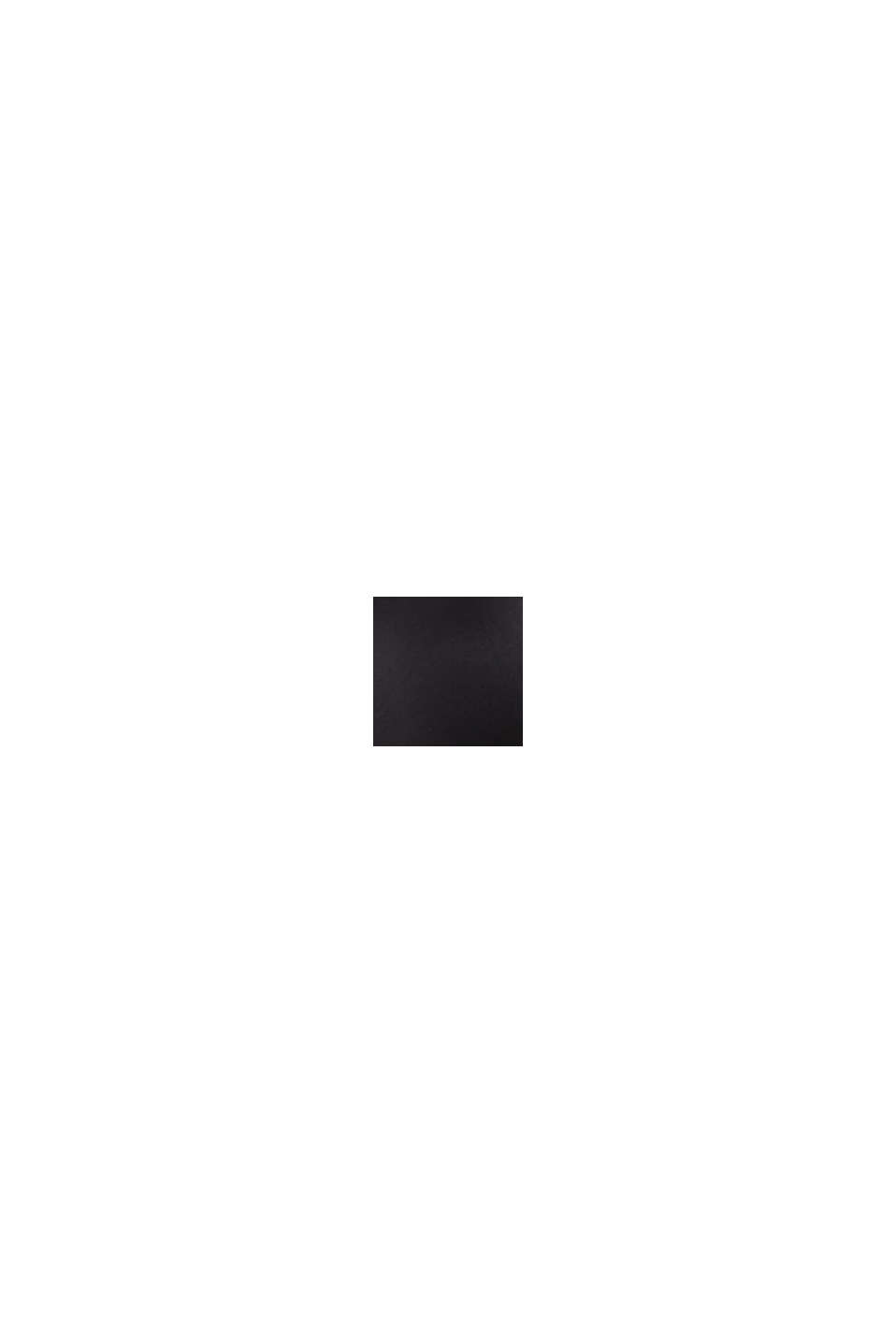 Följsam mikrofibertrosa, BLACK, swatch