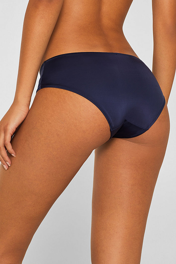 Soft and smooth microfibre shorts, HAPPY NAVY, detail image number 3