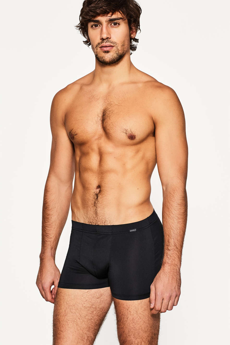 Esprit - Set van 2 shorts van microvezel met stretch