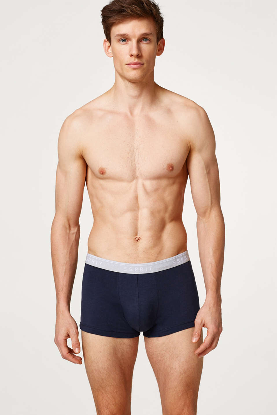 Esprit - Stretch cotton hipster shorts