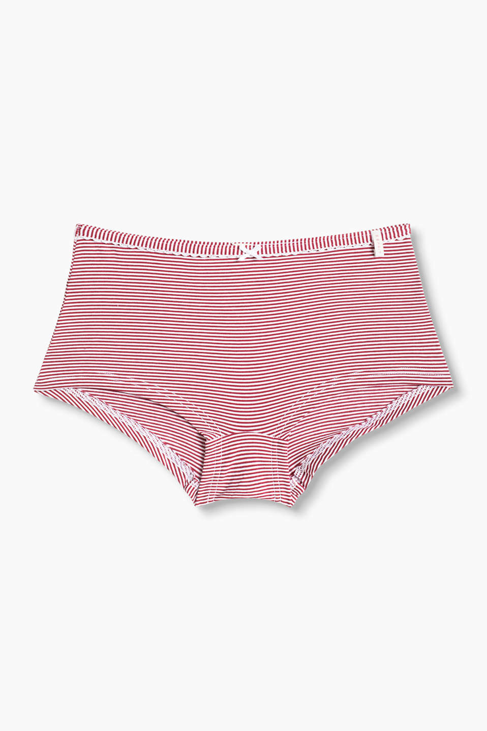 Esprit - Shorty en coton/stretch
