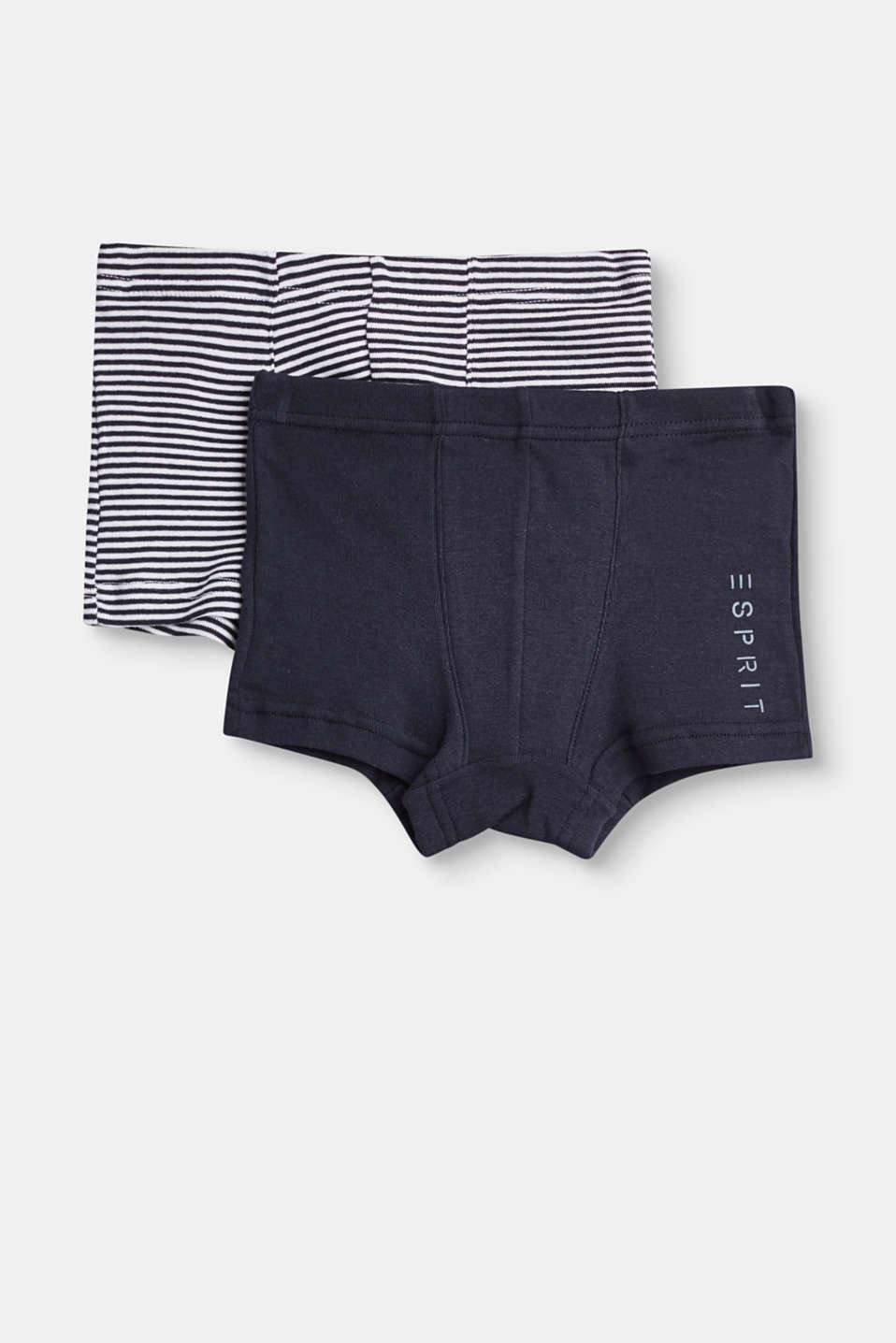 Esprit - two pairs of shorts in 100% cotton