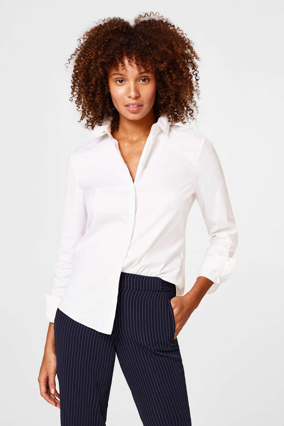 Esprit - Business Stretch-Bluse