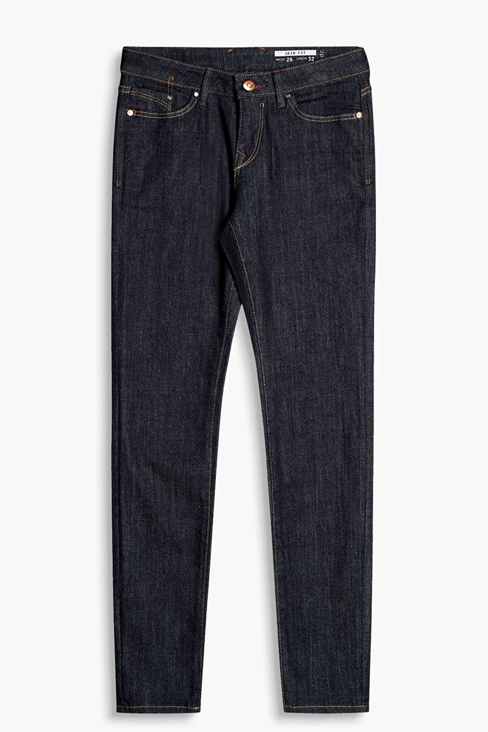 edc - Basic Jeans aus Stretch-Denim