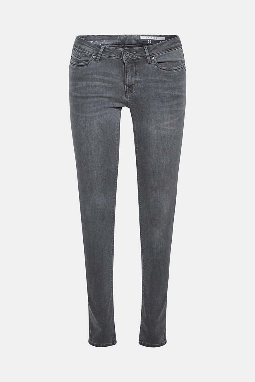 Jean basique en denim stretch