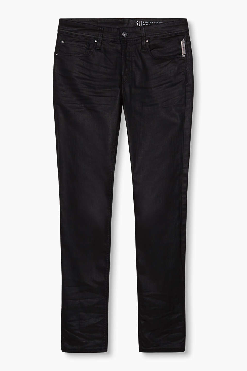 edc Coated stretch jeans at our Online Shop