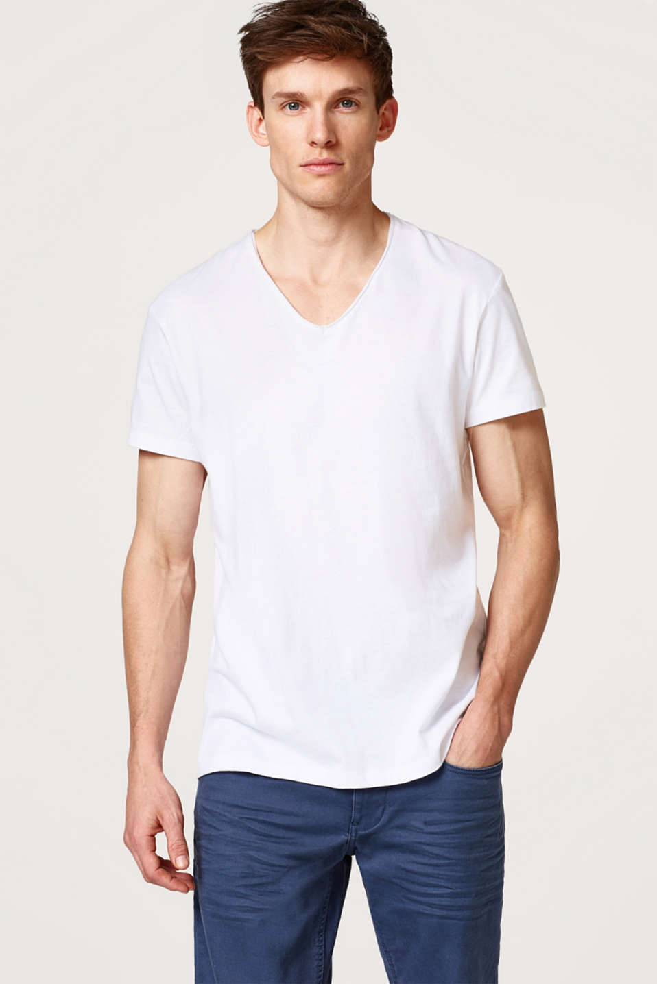 edc - Basic jersey T-shirt, cotton
