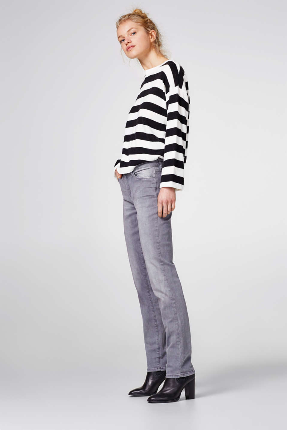 Esprit - Grey stretch jeans