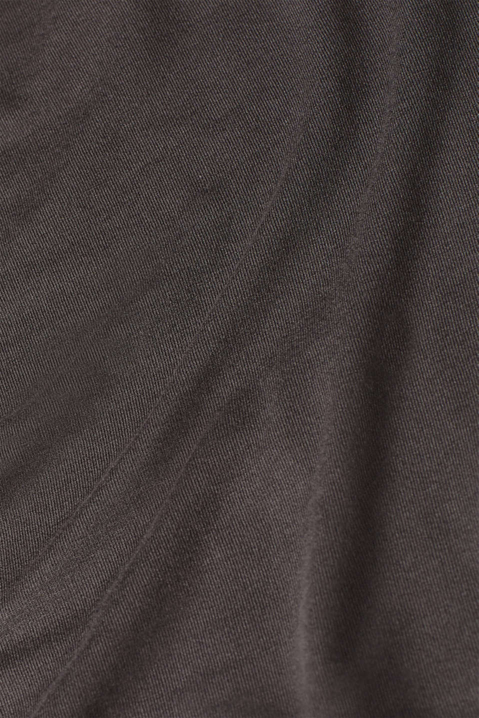 Stretch top with adjustable spaghetti straps, DARK GREY 4, detail image number 4