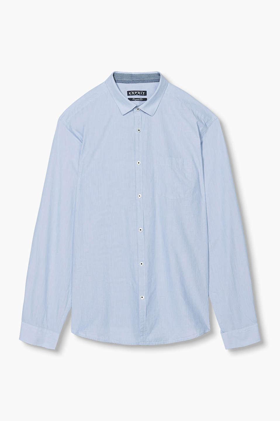 Esprit - Randig skjorta i basmodell cc5469a7f903e