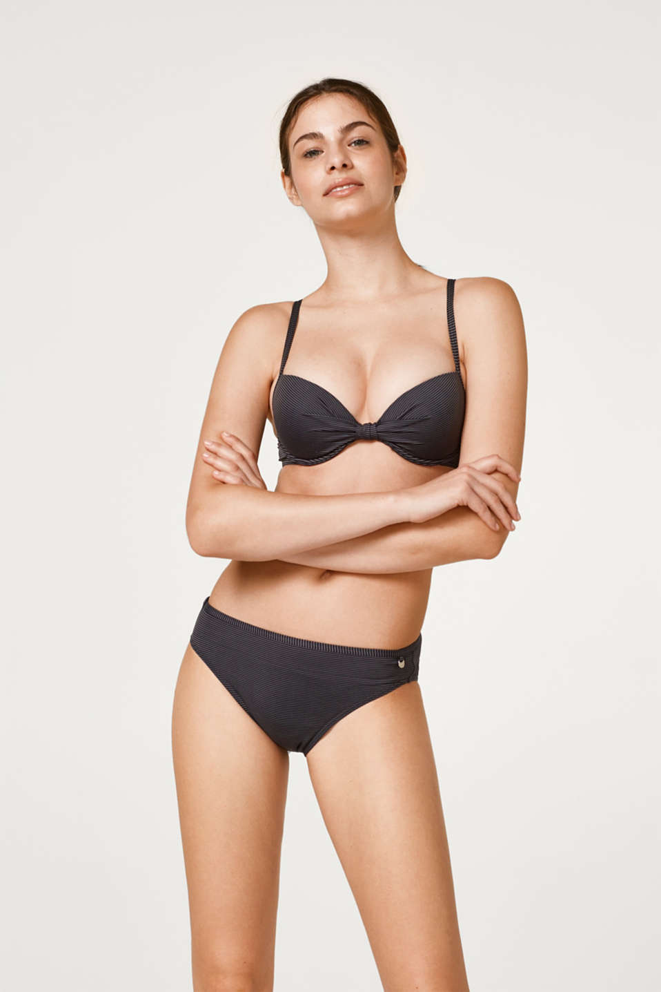 Esprit - Simple bikini bottoms with a striped pattern