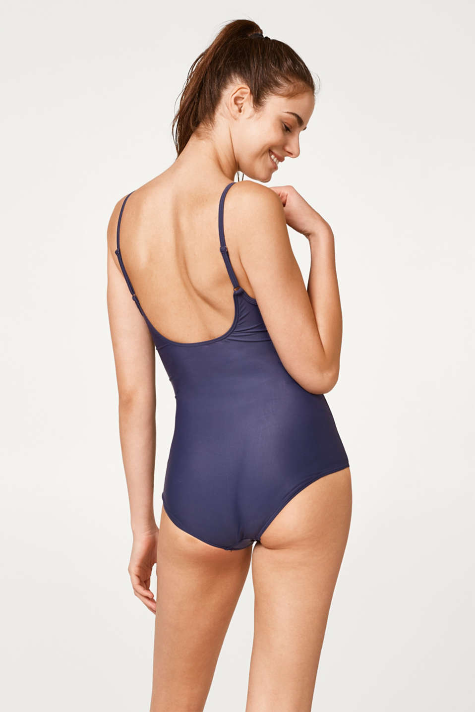 Padded swimsuit in a retro look