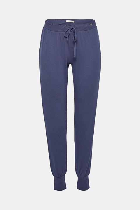 Stretch jersey pyjama bottoms