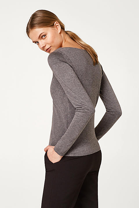 Basic Feinstrick-Sweater