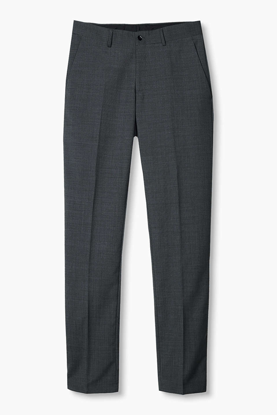 Pants suit Extra Slim fit, DARK GREY 5, detail image number 7