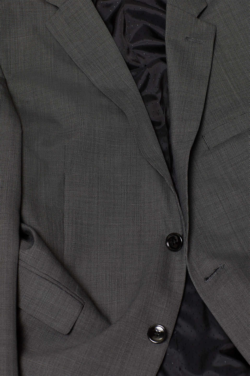 TWO-TONE GREY mix + match: sports jacket, DARK GREY 5, detail image number 4