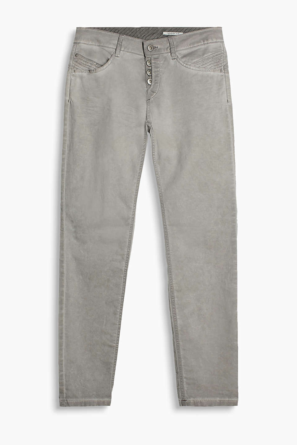 edc - Five-pocket trousers, trendy wash
