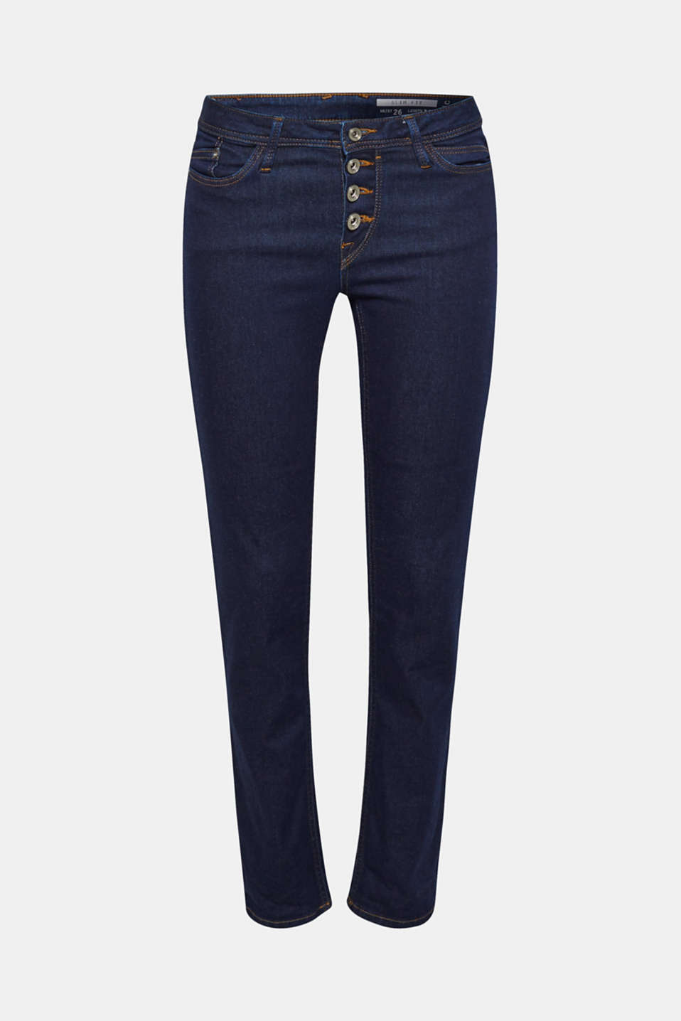 A sexy, slim fit and a cool button placket – what more could you ask for of your new favourite pair of jeans?