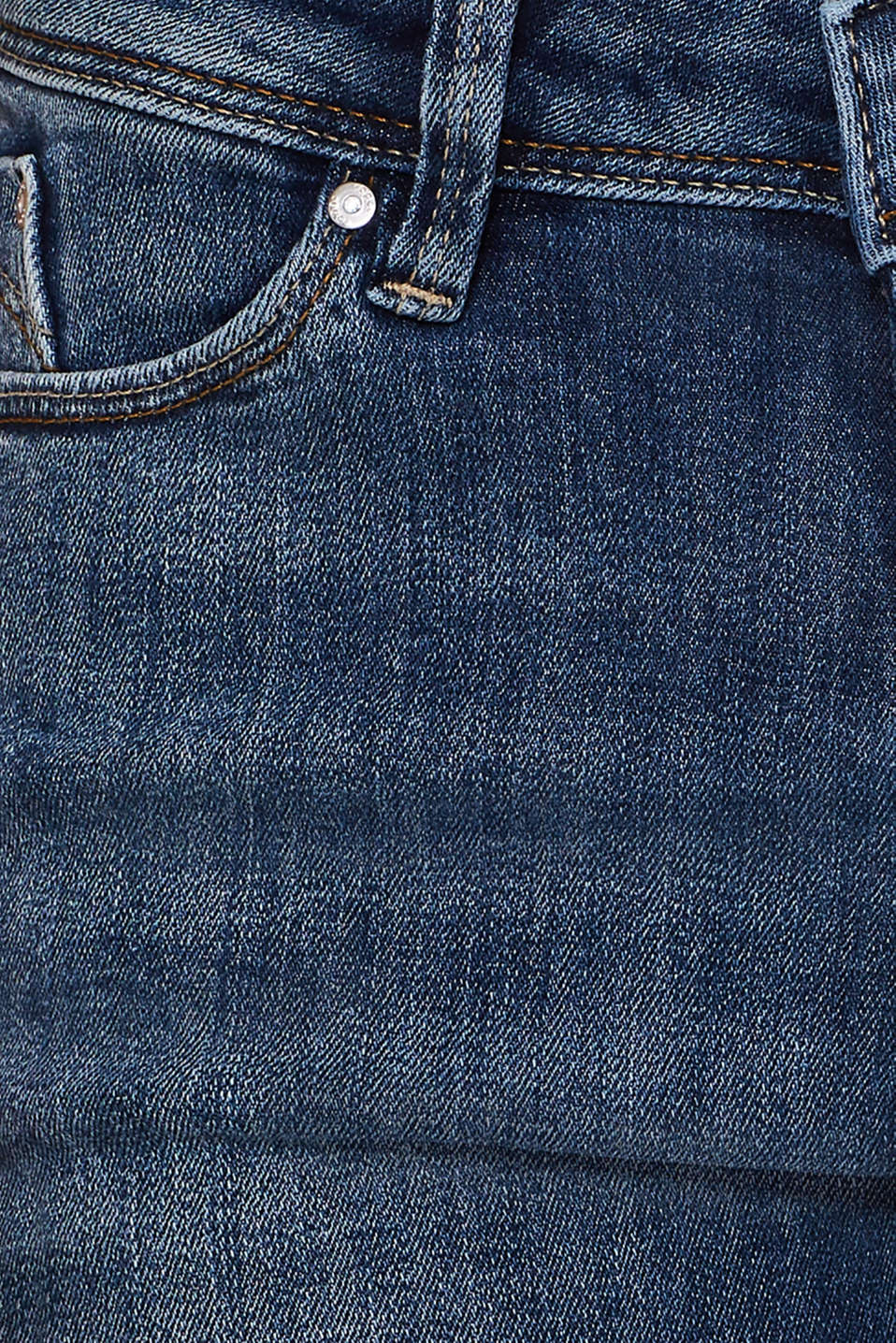 Jeans with organic cotton, BLUE MEDIUM WASH, detail image number 4