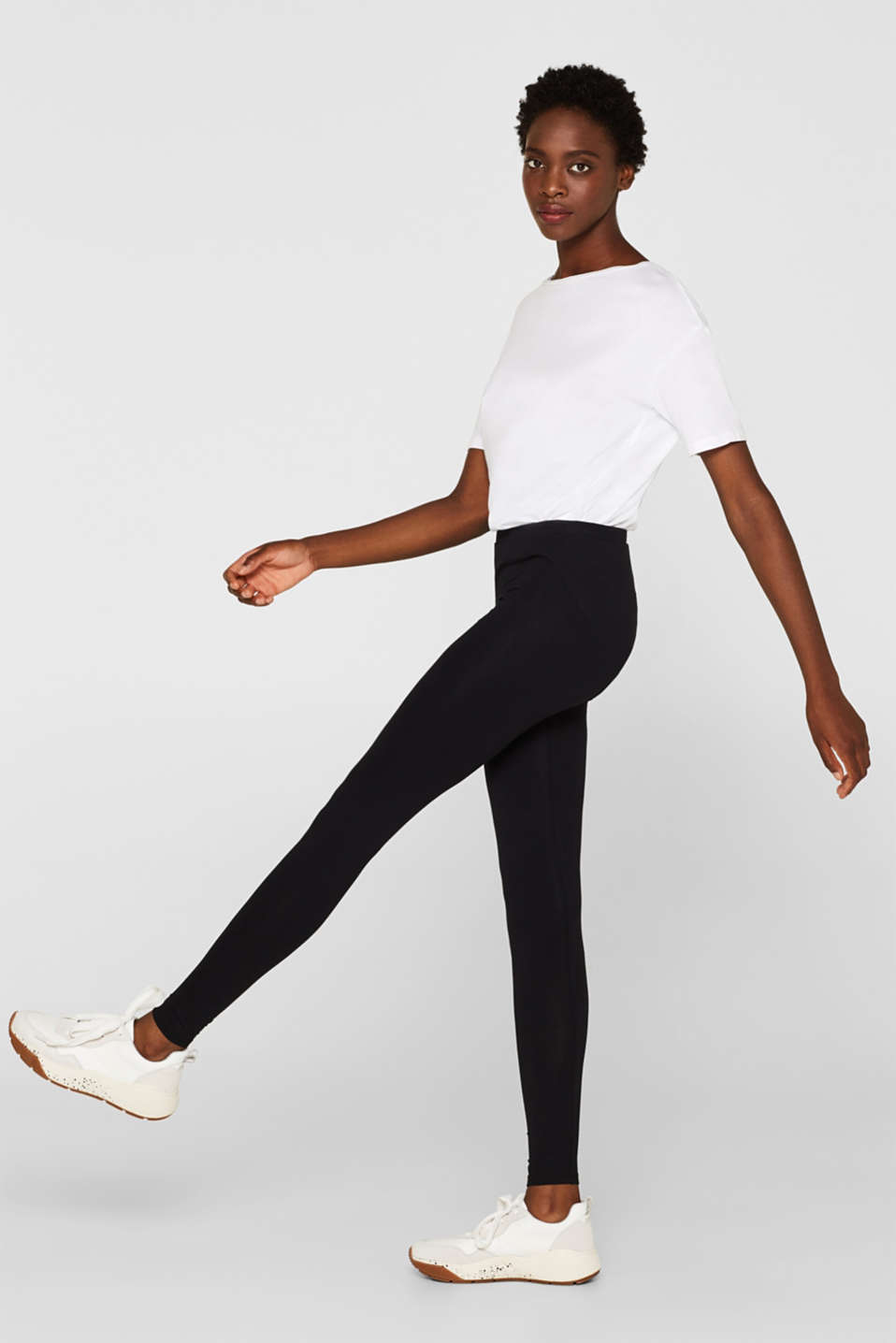 Blickdichte Leggings, Organic Cotton