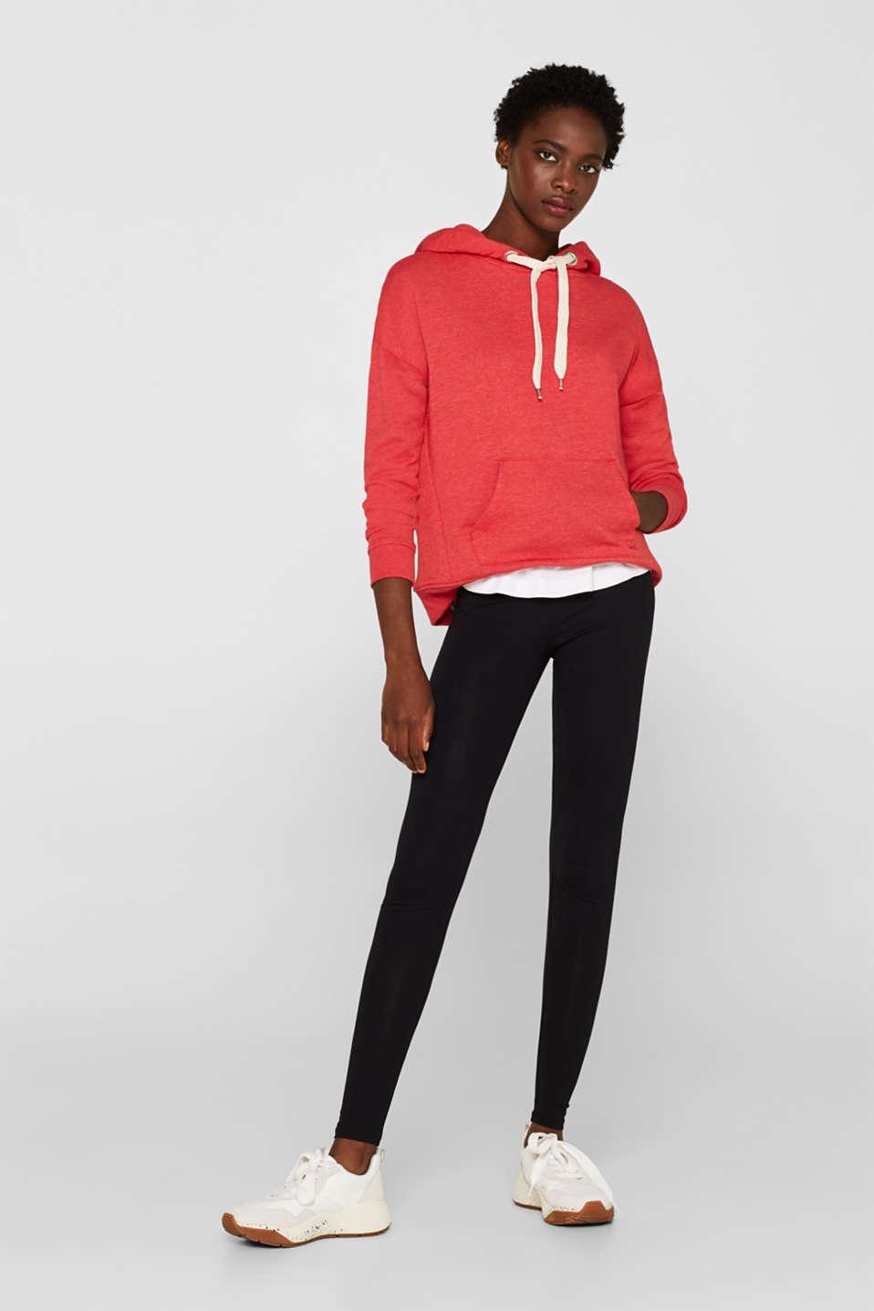 Opaque leggings, BLACK, detail image number 7