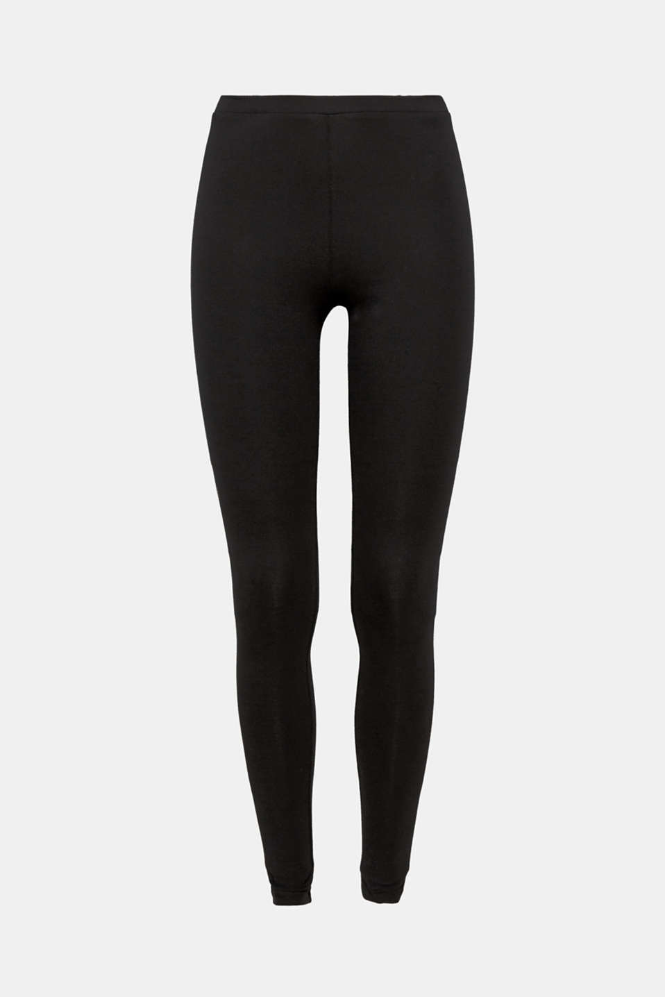 Opaque leggings, BLACK, detail image number 8