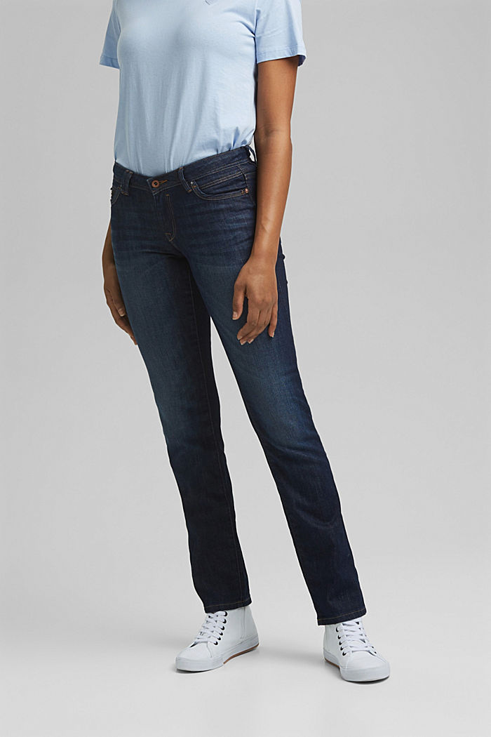 Jeans with organic cotton