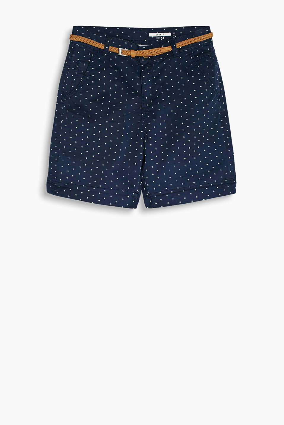 edc - Polka dot stretch shorts