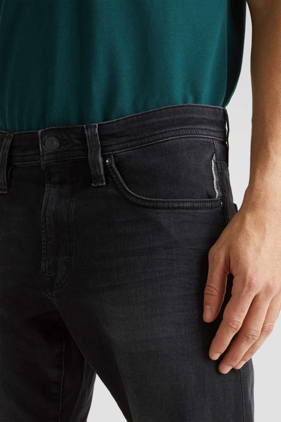 Pants denim Slim fit, BLACK DARK WASH, detail image number 3