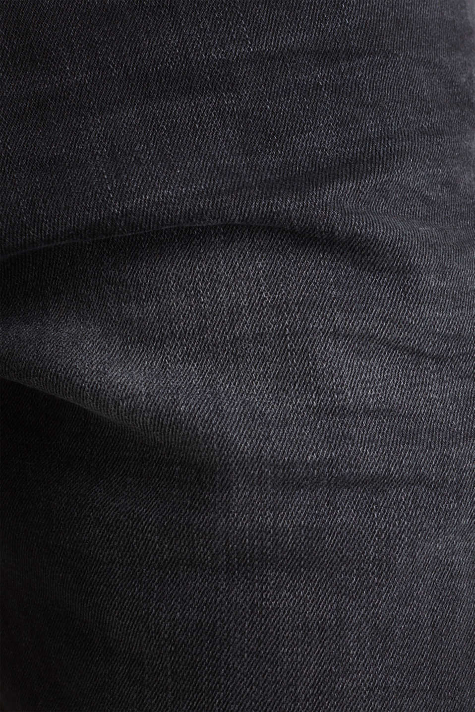 Black stretch jeans, BLACK DARK WASH, detail image number 4