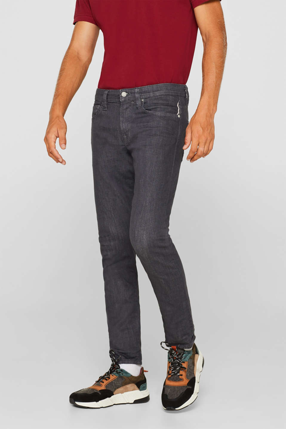 edc - Five-pocket jeans in organic cotton