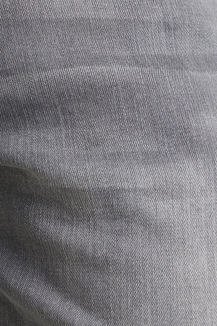 Stretch-Jeans mit Organic Cotton, GREY LIGHT WASHED, detail image number 4