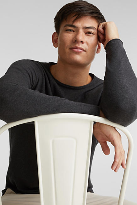 Zwarte Trui Mannen.Esprit Gebreide Truien En Sweaters Voor Heren Kopen In De Online Shop